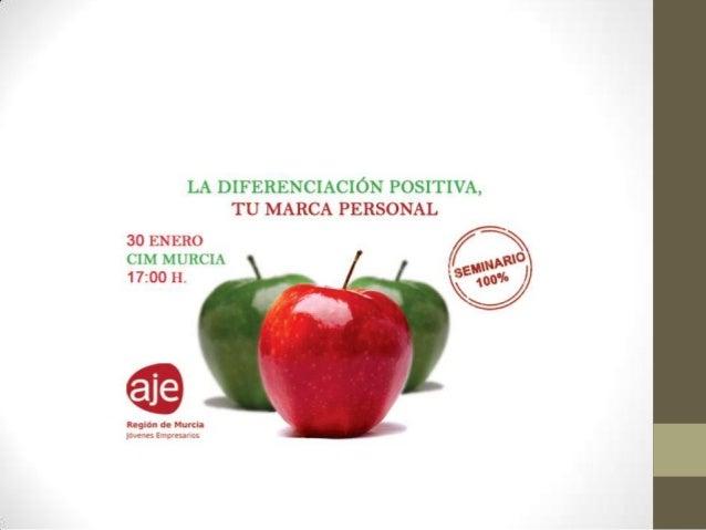 """ ¿¿dispuestos a marcar la diferencia??""  Marca Personal - inicio  La diferencia eres TU  A1  Cristinamulero.com @cristina..."
