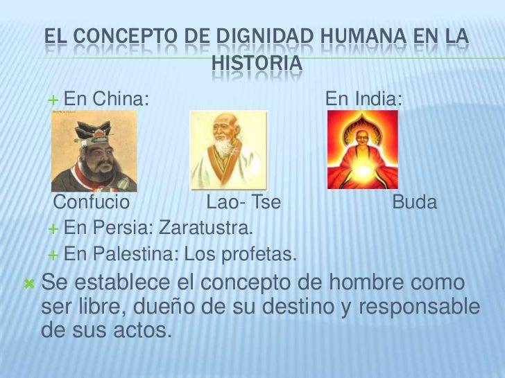 La Dignidad Humana Slide 3