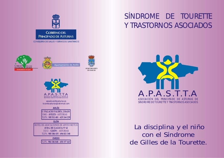 SÍNDROME DE TOURETTE                                                                                              Y TRASTO...