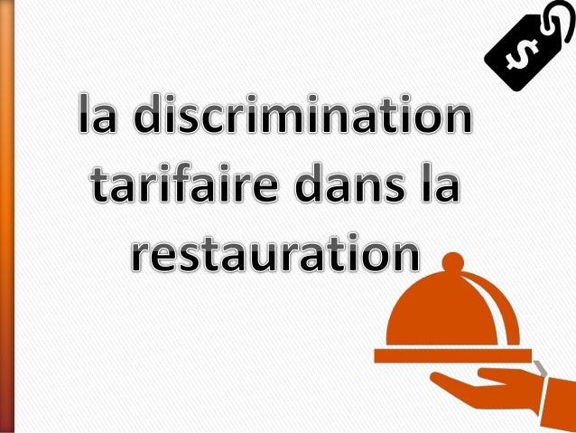 Généralement, les restaurateurs déterminent leurs  tarifs en fonction du coût matière, qui ne dépasse  généralement pas pl...