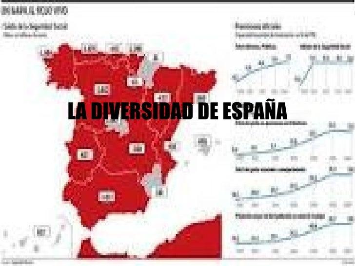 LA DIVERSIDAD DE ESPAÑA