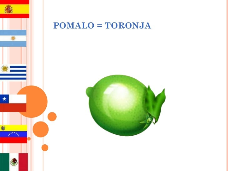 POMALO = TORONJA