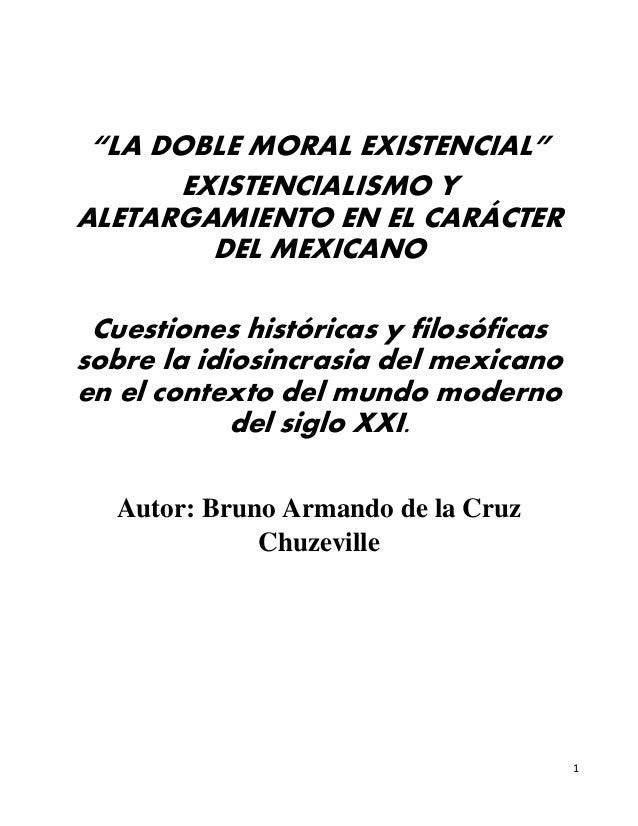 La Doble Moral Ensayo