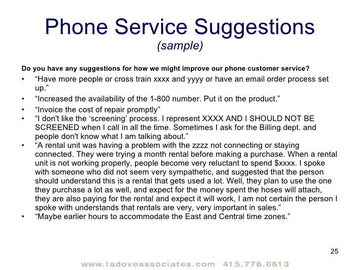 Customer Satisfaction Research Report Sample – Research Report Sample