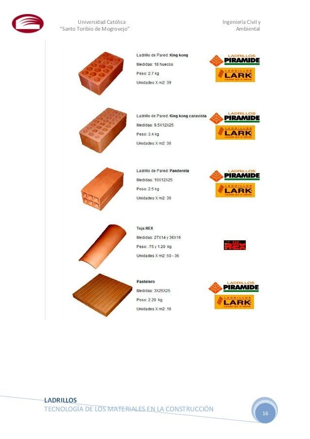 Ladrillos - Tipos de ladrillos huecos ...