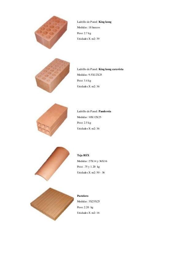 Ladrillos caract tecnicas - Ladrillo refractario medidas ...