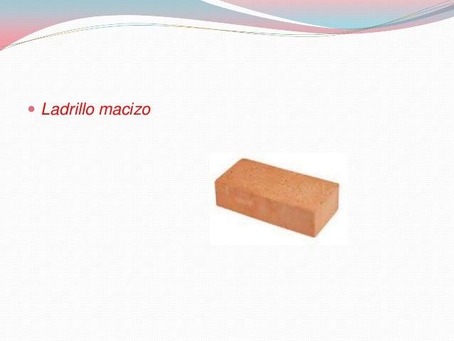 Ladrillos tics - Ladrillo macizo dimensiones ...