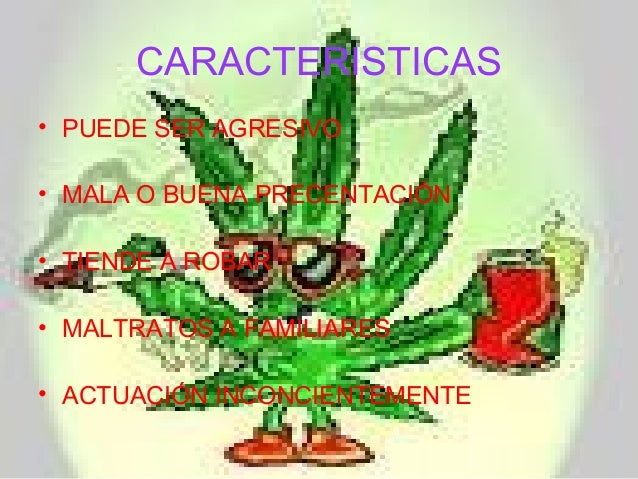 La Drogadicción Diapositivas