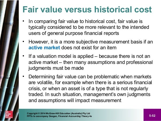 How is market to market accounting different from historical cost accounting?