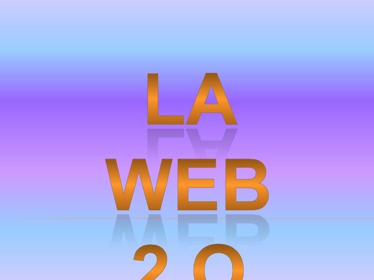 La Web es un conjunto de  interconexiones mediante  hipervínculos y direcciones  URL.  Es un espacio en el cual se  encuen...