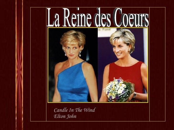 Candle In The Wind Elton John La Reine des Coeurs
