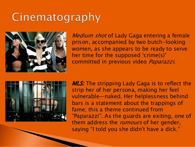 analyzing lady gagas telephone music video essay She studied music and improved her songwriting skills by writing essays lady gaga, i've been on the music video for telephone earned gaga the.