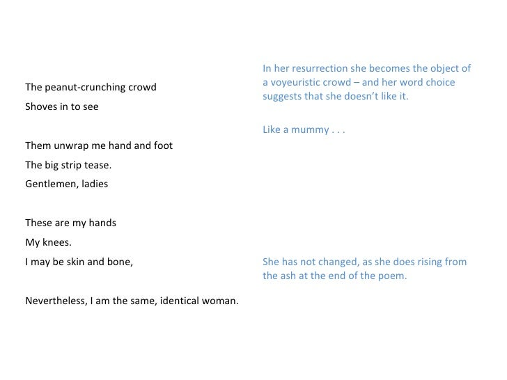 lady lazarus poem meaning