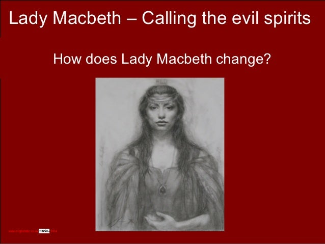How does lady macbeth incorporate the