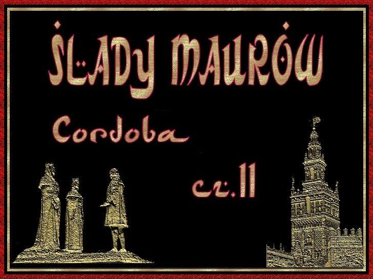 cz.II SLADY MAUROW . .