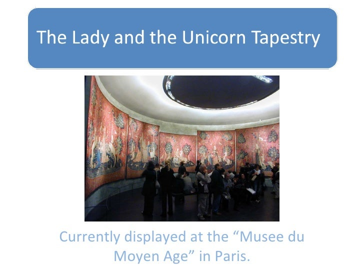 """Currently displayed at the """"Musee du Moyen Age"""" in Paris."""