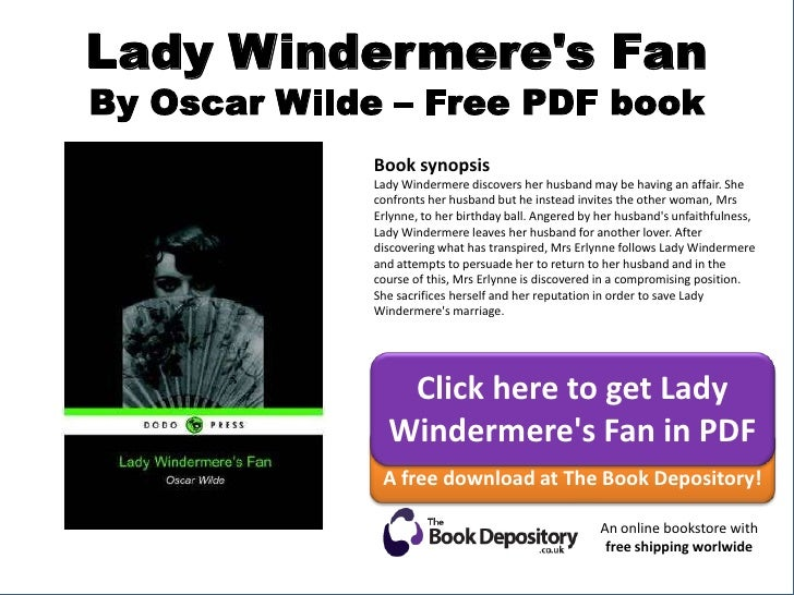 Lady Windermeres Fan Pdf