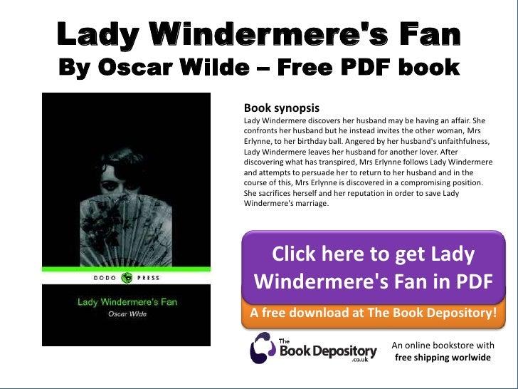 Lady Windermeres Fan Pdf