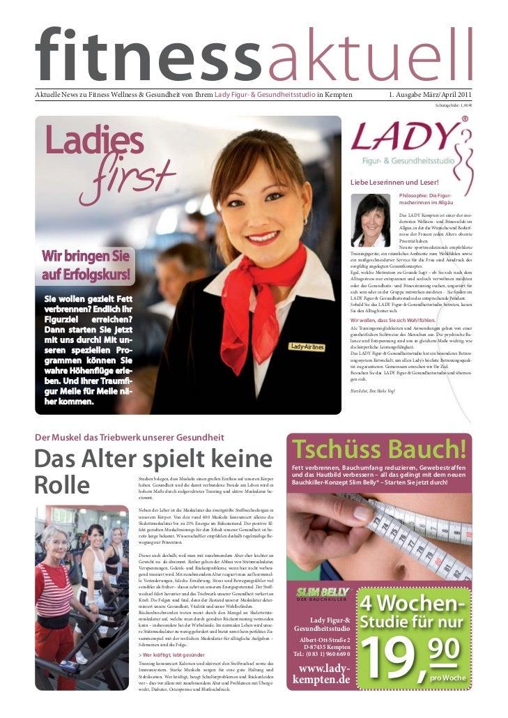 fitnessaktuellAktuelle News zu Fitness Wellness & Gesundheit von Ihrem Lady Figur- & Gesundheitsstudio in Kempten         ...