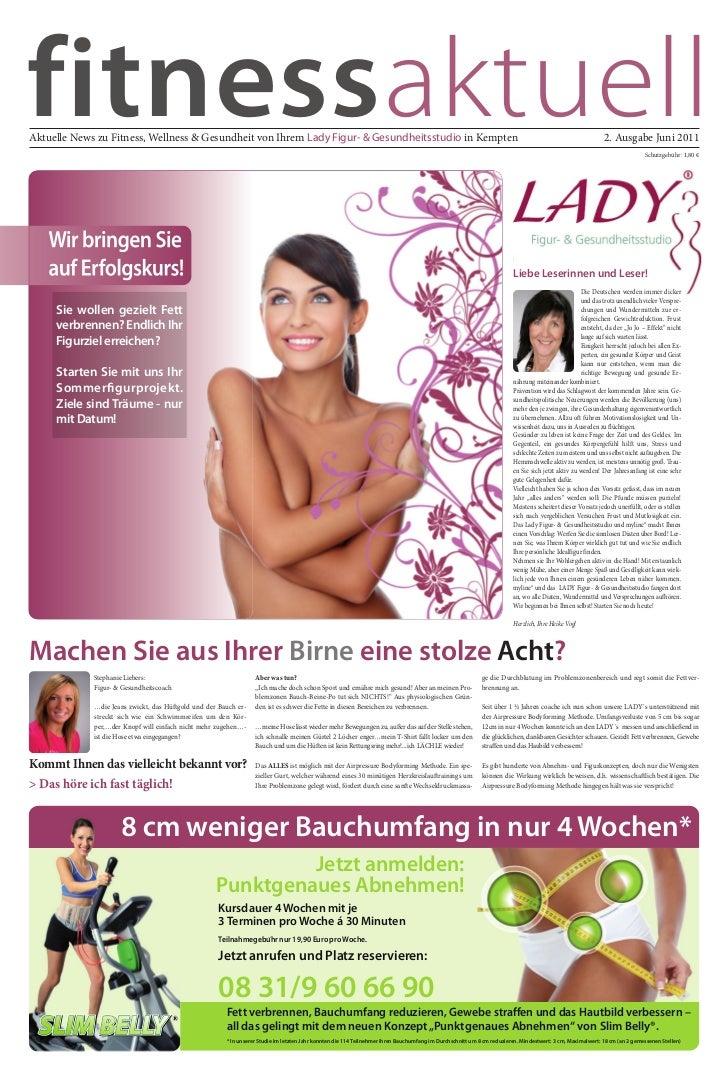 fitnessaktuellAktuelle News zu Fitness, Wellness & Gesundheit von Ihrem Lady Figur- & Gesundheitsstudio in Kempten        ...
