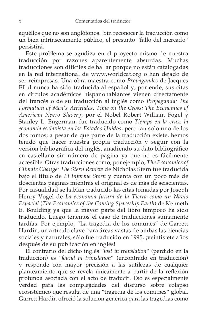xii                   Comentarios del traductor   El 29 de octubre de 2011 el presidente Rafael Correa pidiópermiso al pre...