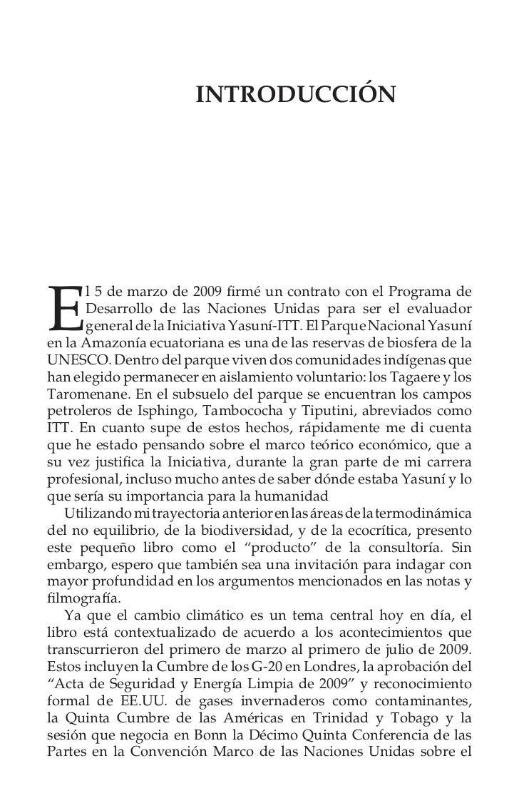 xxxii                      Agradecimientosentrañas de la Amazonía ecuatoriana. Con demasiada frecuencialos economistas de ...