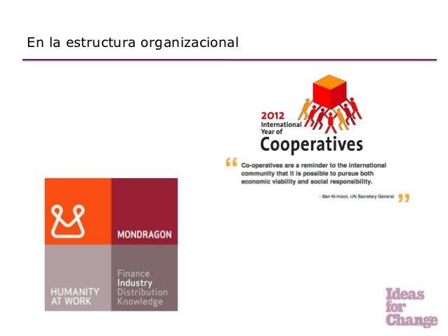 En la estructura organizacional                                  5