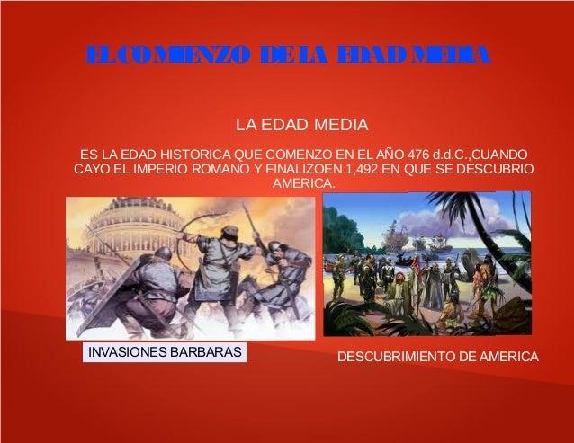 LA EDAD MEDIA 5 PRIMARIA Slide 2