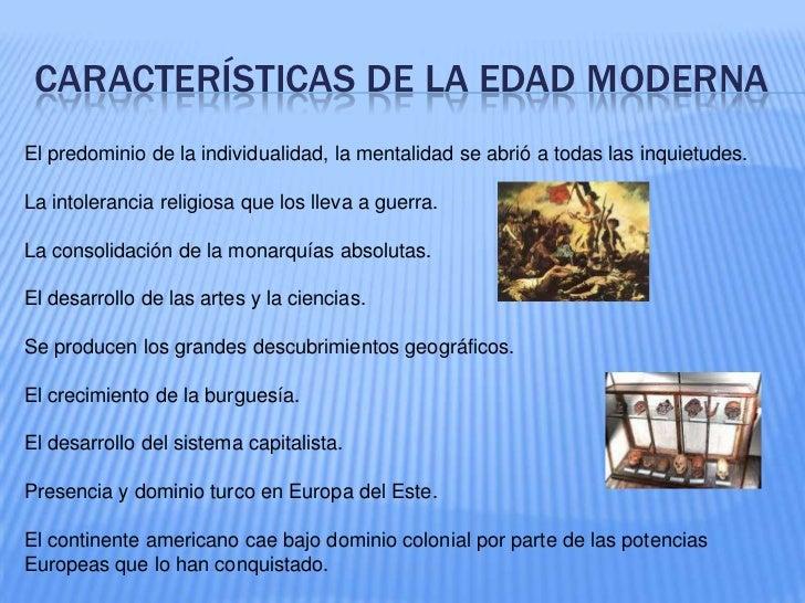 La edad moderna Slide 3