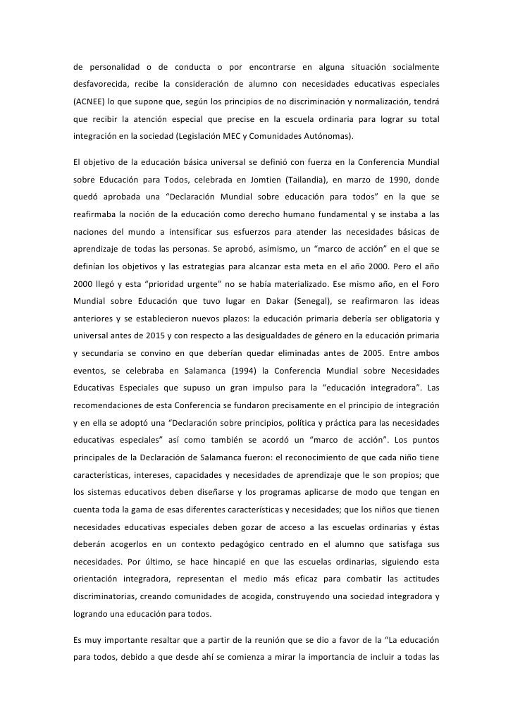 La EducacióN Inclusiva Y Retos De La InclusióN Slide 2