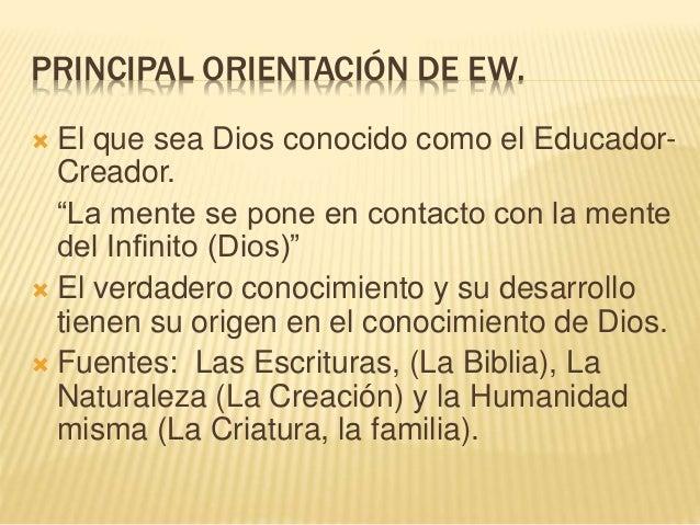 La Educación Según Elena De White