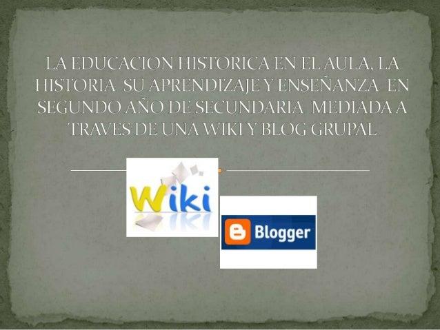Alternativas para el logro de aprendizajesvirtualesPresencialesEficaces para lamateria deHISTORIA I enalumnos de 2°deteles...