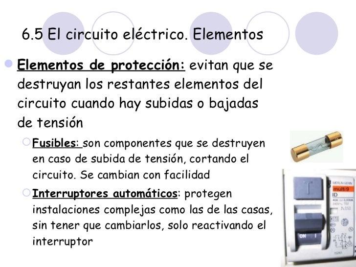 3 eso electricidad for Subida de tension electrica