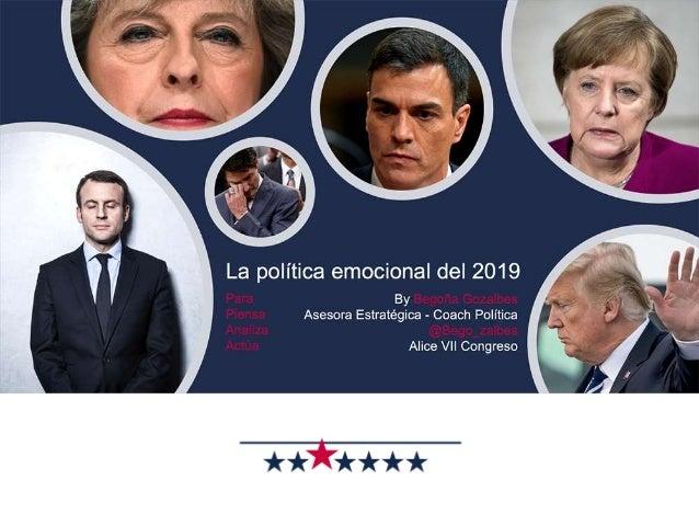 La Emoción Política del 2019 Alice