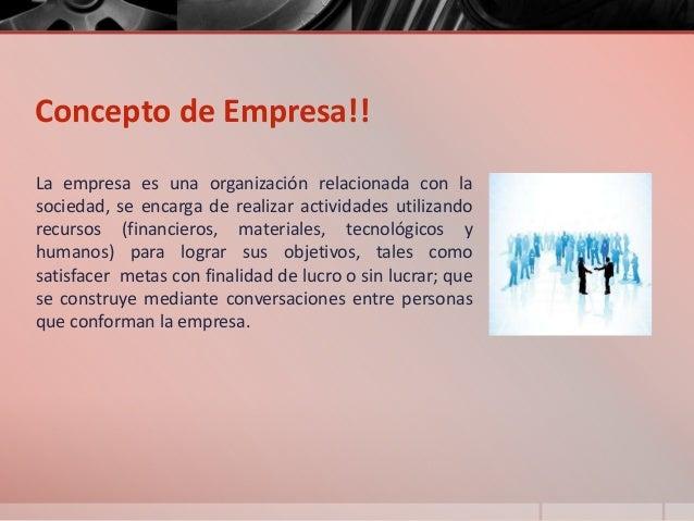 Concepto clasificaci n y funciones de la empresa for Concepto de oficina y su importancia