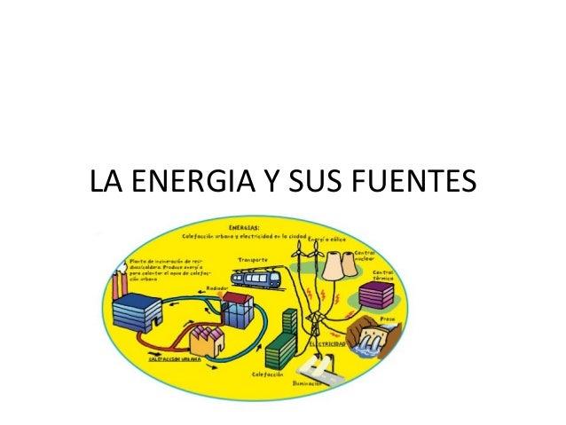 LA ENERGIA Y SUS FUENTES