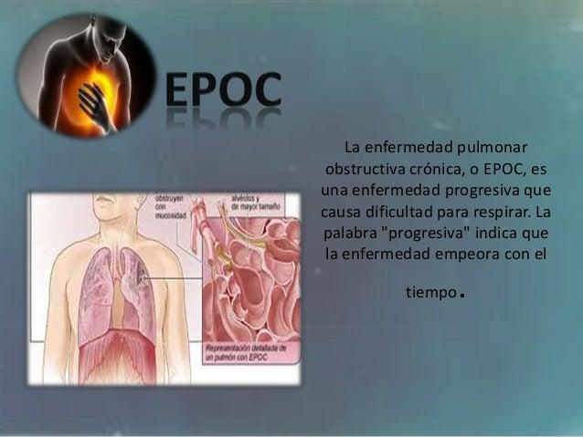 La enfermedad pulmonar obstructiva crónica, o EPOC, es una enfermedad progresiva que causa dificultad para respirar. La pa...