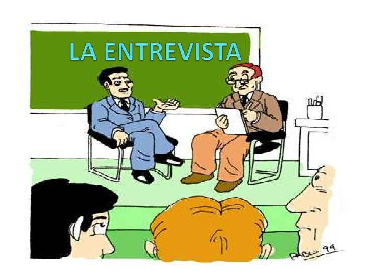 LA ENTREVISTA<br />