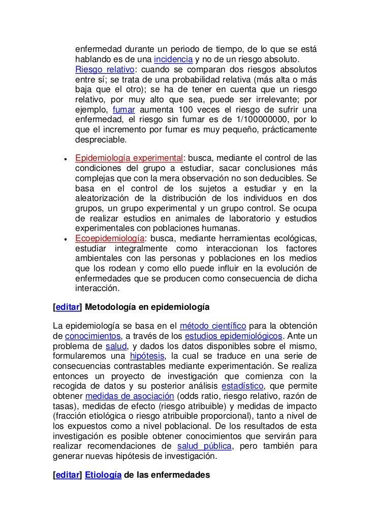 La epidemiología Slide 3