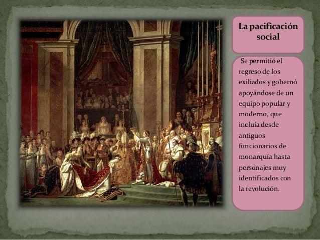 Lapacificación social Se permitió el regreso de los exiliados y gobernó apoyándose de un equipo popular y moderno, que inc...
