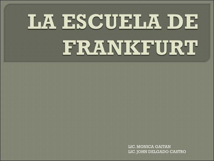 LIC. MONICA GAITANLIC. JOHN DELGADO CASTRO