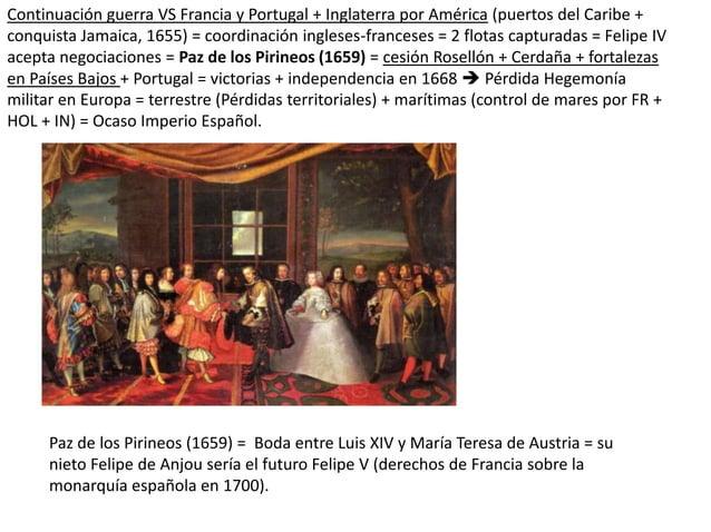 Continuación guerra VS Francia y Portugal + Inglaterra por América (puertos del Caribe + conquista Jamaica, 1655) = coordi...