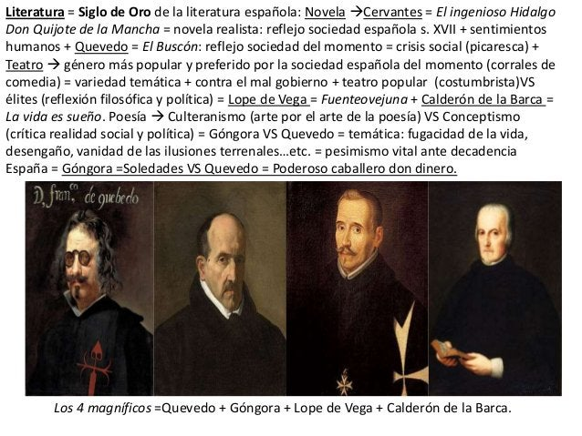 Literatura = Siglo de Oro de la literatura española: Novela Cervantes = El ingenioso Hidalgo Don Quijote de la Mancha = n...