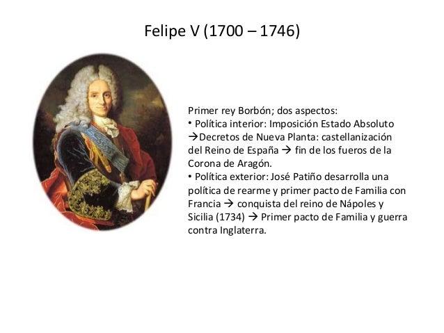 La espa a del siglo xviii for Politica exterior de espana