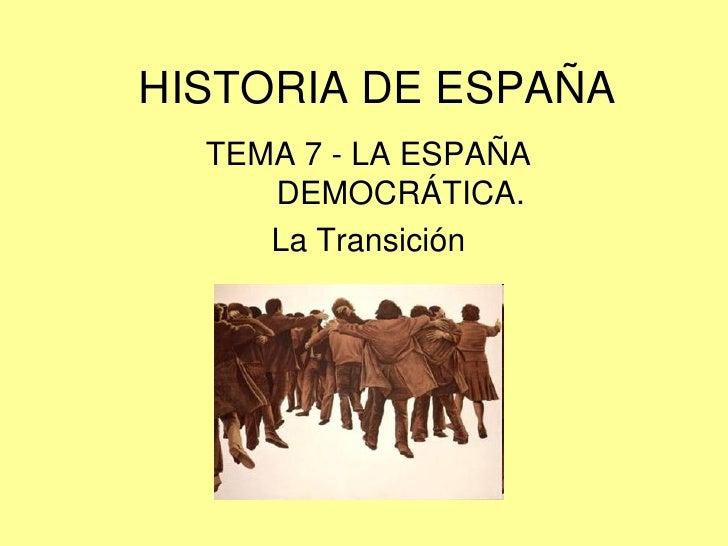 La España democrática