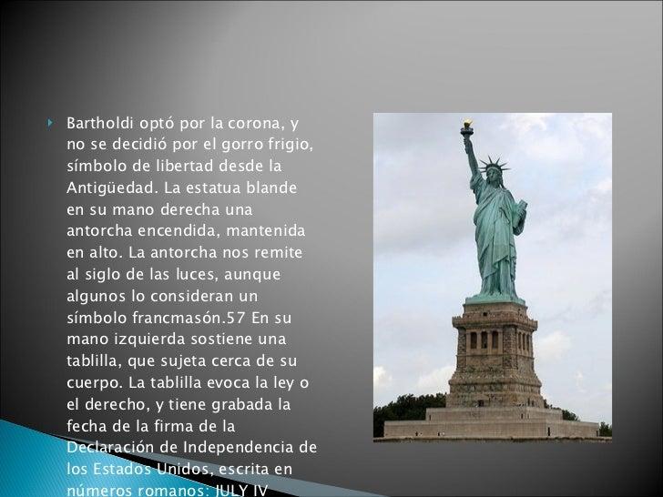 La estatua de la libertad for Interior estatua de la libertad