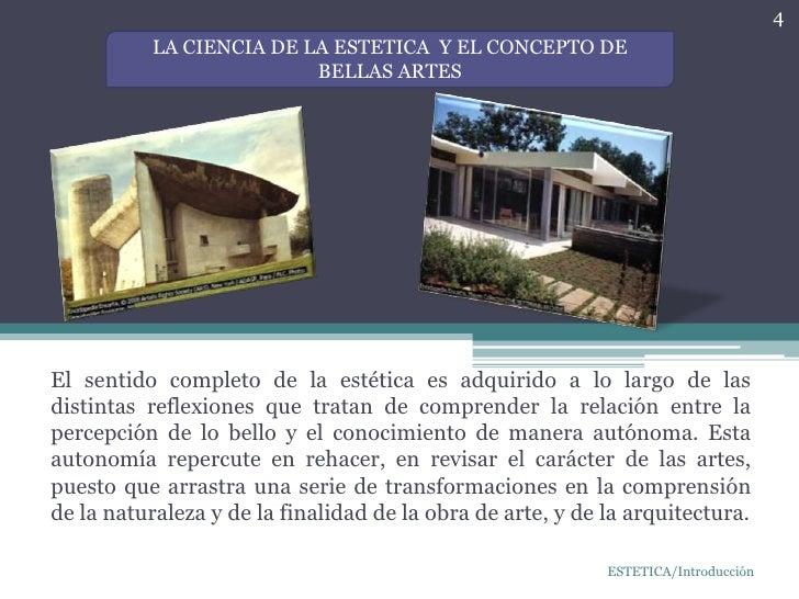 La estetica en una obra arquitectonica for Materias de la carrera arquitectura