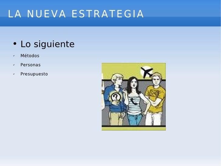 La Estrategia Slide 3