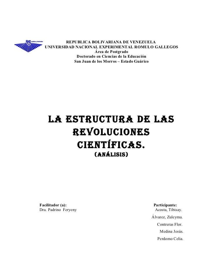 La estructura de las revoluciones cientificas karen