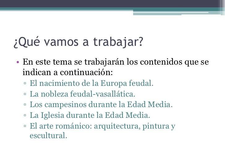 LA EUROPA FEUDAL Slide 2